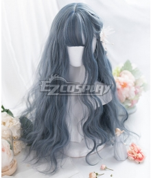 Japan Harajuku Lolita Series Blue Cosplay Wig