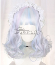 Japan Harajuku Lolita Series Diamond Color Cosplay Wig-Only Wig
