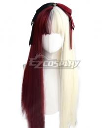 Japan Harajuku Lolita Series Different world Red White Cosplay Wig