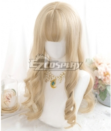 Japan Harajuku Lolita Series Golden Cosplay Wig