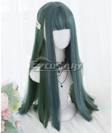 Japan Harajuku Lolita Series Green Cosplay Wig