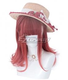 Japan Harajuku Lolita Series Juno Red Cosplay Wig