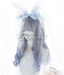 Japan Harajuku Lolita Series Light Blue Cosplay Wig