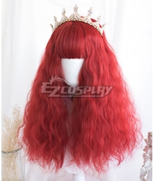 Japan Harajuku Lolita Series Medusa Red Cosplay Wig