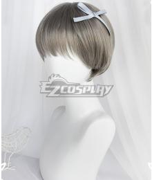 Japan Harajuku Lolita Series Mischief Gray Cosplay Wig