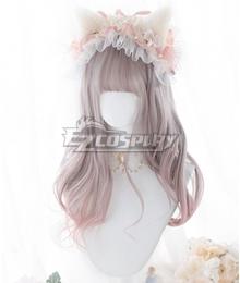 Japan Harajuku Lolita Series Sakura Pink Cosplay Wig