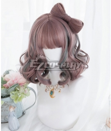 Japan Harajuku Lolita Series Strawberry Paradise Pink Cosplay Wig