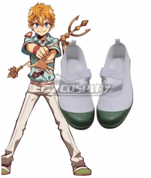 Jibaku Shounen Hanako-Kun Toilet-bound Hanako-kun Minamoto Kou White Green Cosplay Shoes