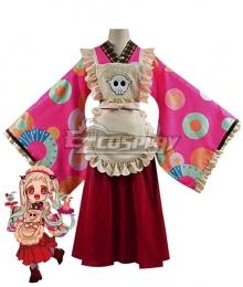 Jibaku Shounen Hanako-kun Nene Yashiro Kimono Maid Dress Cosplay Costume