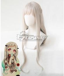 Jibaku Shounen Hanako-kun Yashiro Nene White Cosplay Wig