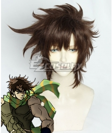JoJo'S Bizarre Adventure: Battle Tendency Joseph Joestar Brown Cosplay Wig