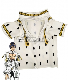 Jojo'S Bizarre Adventure: Golden Wind Bruno Bucciarati Pet Supplies Cloths For Cat White Cosplay Costume