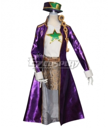 JoJo's Bizarre Adventure: Diamond Is Unbreakable Kujo Jotaro Female Cosplay Costume