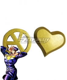 Jojo'S Bizarre Adventure :Unbreakble Diamond Josuke Higashikata Cosplay Accessory Prop