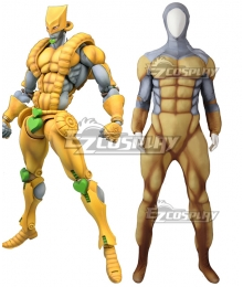 Jojo's Bizarre Adventure Brando Dio THE WORLD Muscle Suit Zentai Jumpsuit Cosplay Costume