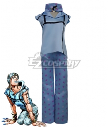 JoJo's Bizarre Adventure Johnny Joestar Cosplay Costume - New Edition