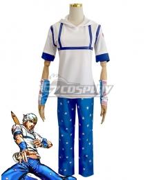 JoJo's Bizarre Adventure Johnny Joestar Cosplay Costume - New Edition