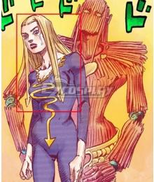 JoJo's Bizarre Adventure:JoJolion Hato Higashikata Golden Cosplay Wig