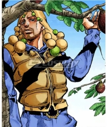 JoJo's Bizarre Adventure:JoJolion Norisuke Higashikata IV Golden Cosplay Wig
