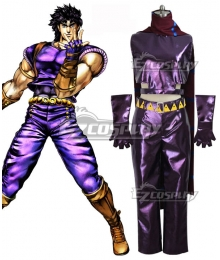 JoJo's Bizarre Adventure: Phantom Blood Jonathan Joestar Purple Cosplay Costume