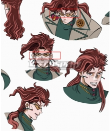 JoJo's Bizarre Adventure Kakyoin Noriaki Glasses Cosplay Accessory Prop
