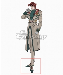 JoJo's Bizarre Adventure Kakyoin Noriaki White Green Cosplay Shoes