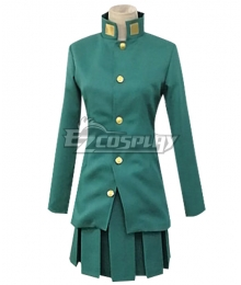 JoJo's Bizarre Adventure Noriaki Kakyoin Female Cosplay Costume