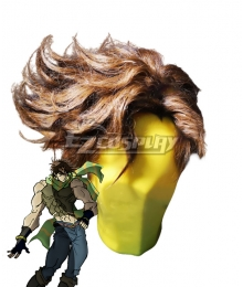Jojo'S Bizarre Adventure: Phantom Blood Joseph Joestar Brown Cosplay Wig