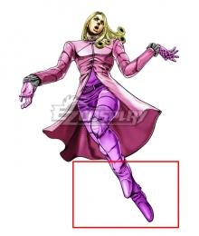 Jojo'S Bizarre Adventure: STEEL BALL RUN Funny Valentine Pink Cosplay Shoes
