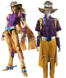 JoJo's Bizarre Adventure: Steel Ball Run Gyro Zeppeli Cosplay Costume - C Edition