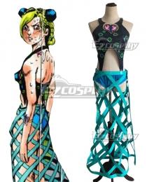 Jojo'S Bizarre Adventure: Stone Ocean Cujoh Jolyne EP01 Long Skirt Cosplay Costume
