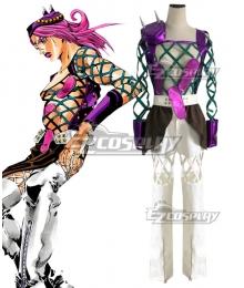 Jojo'S Bizarre Adventure: Stone Ocean Narciso Anasui Cosplay Costume