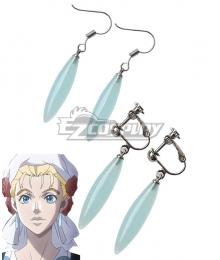 JoJo's Bizarre Adventure Suzi Q Joestar Ear Clip Earrings Cosplay Accessory Prop
