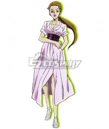 Jojo'S Bizarre Adventure :Unbreakble Diamond Aya Tsuji Cosplay Costume