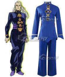 Jojo'S Bizarre Adventure :Unbreakble Diamond Mikitaka Hazekura Alien Cosplay Costume