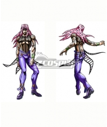 JoJo's Bizarre Adventure: Vento Aureo Golden Wind Diavolo Cosplay Costume
