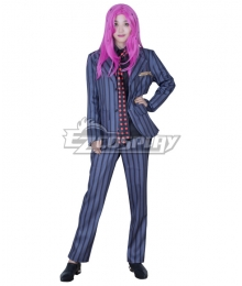 JoJo's Bizarre Adventure: Vento Aureo Golden Wind Diavolo Suit Cosplay Costume