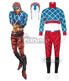 JoJo's Bizarre Adventure: Vento Aureo Golden Wind Guido Mista Cosplay Costume
