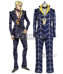 JoJo's Bizarre Adventure: Vento Aureo Golden Wind Prosciutto Cosplay Costume -  New Editon