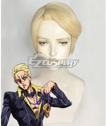 JoJo's Bizarre Adventure: Vento Aureo Golden Wind Prosciutto Golden Cosplay Wig