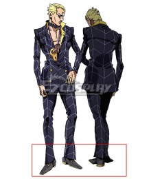 JoJo's Bizarre Adventure: Vento Aureo Golden Wind Prosciutto Grey Cosplay Shoes