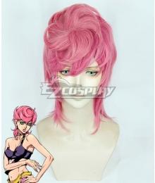 JoJo's Bizarre Adventure: Vento Aureo Golden Wind Trish Una Pink Cosplay Wig