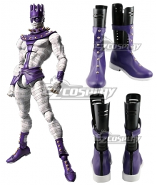 JoJo's Bizarre Adventure White snake Purple Shoes Cosplay Boots