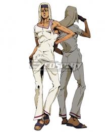 Jojo'S Bizarre Adventure:Golden Wind Tiziano  White Cosplay Costume