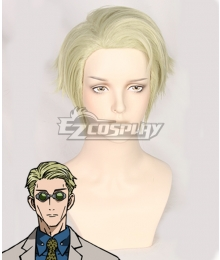 Jujutsu Kaisen Sorcery Fight Kento Nanami Golden Cosplay Wig
