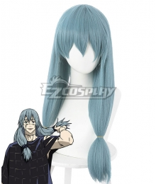 Jujutsu Kaisen Sorcery Fight Mahito Blue Gray Cosplay Wig