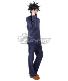 Jujutsu Kaisen Sorcery Fight Megumi Fushiguro Anime Ver. Deep Blue Cosplay Costume