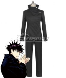 Jujutsu Kaisen Sorcery Fight Megumi Fushiguro Black Comic Ver. Cosplay Costume