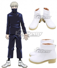Jujutsu Kaisen Sorcery Fight Toge Inumaki White Cosplay Shoes