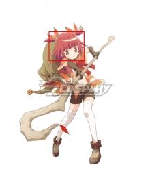 Magia Record: Puella Magi Madoka Magica Side Story Magireco Kaede Akino Red Cosplay Wig